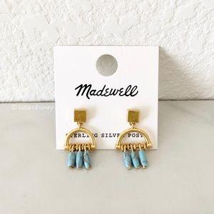 Madewell Westward Drop Stud Earrings